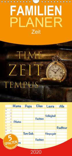 Time – Zeit – Tempus – Familienplaner hoch (Wandkalender 2020 , 21 cm x 45 cm, hoch) von Illgen,  Cathrin