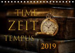 Time – Zeit – Tempus (Tischkalender 2019 DIN A5 quer) von Illgen,  Cathrin
