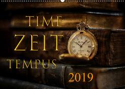 Time – Zeit – Tempus (Wandkalender 2019 DIN A2 quer) von Illgen,  Cathrin