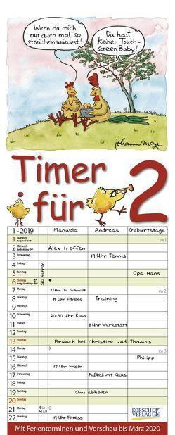 Timer für 2 2019 von Korsch Verlag, Mayr,  Johann