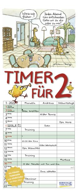 Timer für 2 2022 von Korsch Verlag, Mayr,  Johann