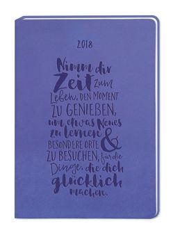 Timer Lila (Nimm dir Zeit) A6 2018