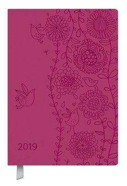 Timer Soft Touch pink 2019 von Korsch Verlag