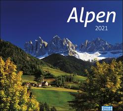 times&more Alpen Bildkalender Kalender 2021 von Heye