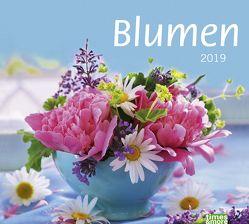 times&more Blumen Bildkalender – Kalender 2019 von Heye