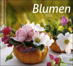 times&more Blumen Bildkalender Kalender 2021 von Heye