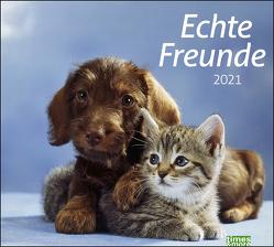 times&more Echte Freunde Bildkalender Kalender 2021 von Heye