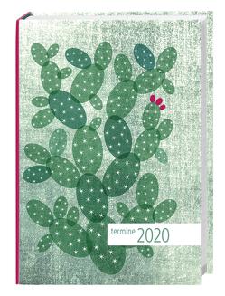 times&more Kaktus grün Kalenderbuch Kalender 2020 von Heye