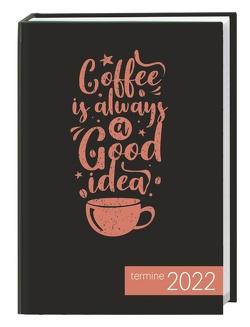 times&more Typo Kalenderbuch Kalender 2022 von Heye