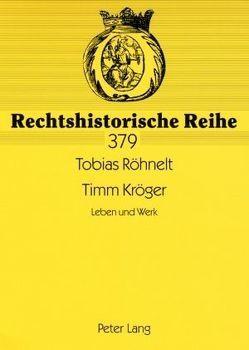 Timm Kröger von Röhnelt,  Tobias