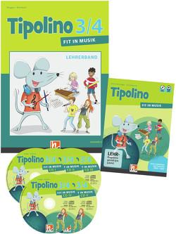 Tipolino 3/4 – Fit in Musik. Paket inkl. DVD. Ausgabe D von Ringger,  Katrin-Uta, Rohrbach,  Kurt
