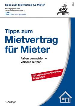 Tipps zum Mietvertrag für Mieter von Deutschen Mieterbund, Ropertz,  Ulrich