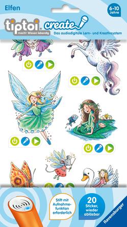 tiptoi® CREATE Sticker Elfen von Harvey,  Franziska