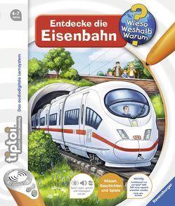 tiptoi® Entdecke die Eisenbahn von Friese,  Inka, Krause,  Joachim
