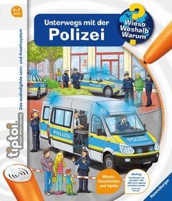 tiptoi® Unterwegs mit der Polizei von Böwer,  Niklas, Küntzel ,  Karolin