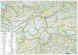 Tirol • Vorarlberg, 1:200.000, Poster von Freytag-Berndt und Artaria KG