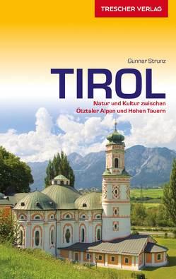 Reiseführer Tirol von Strunz,  Gunnar