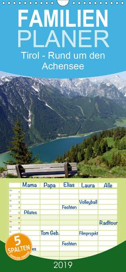 Tirol – Rund um den Achensee – Familienplaner hoch (Wandkalender 2019 , 21 cm x 45 cm, hoch) von Michel,  Susan