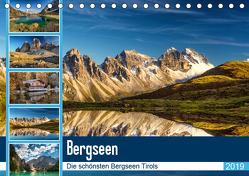 Tiroler Bergseen (Tischkalender 2019 DIN A5 quer) von Jovanovic - www.djphotography.at,  Danijel
