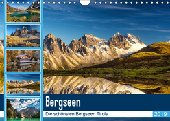 Tiroler Bergseen (Wandkalender 2019 DIN A4 quer) von Jovanovic - www.djphotography.at,  Danijel