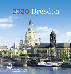 Tisch-Kalender Dresden 2020 von Rahmel,  Renate
