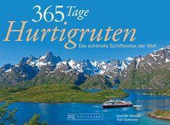 Tischaufsteller 365 Tage Hurtigruten von Mosler,  Axel M., Schröder,  Ralf