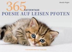 Tischaufsteller – Poesie auf leisen Pfoten von Wegler,  Monika