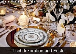 Tischdekoration und Feste (Tischkalender 2018 DIN A5 quer) von Patrick,  Bombaert