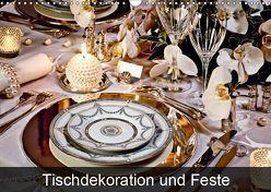 Tischdekoration und Feste (Wandkalender 2019 DIN A3 quer) von Patrick,  Bombaert