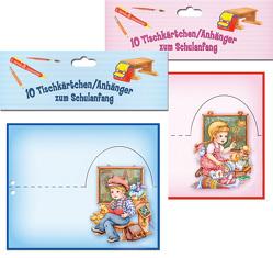 """Tischkärtchen """"Zum Schulanfang"""""""