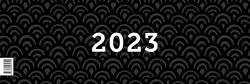Tischkalender 2019, Querkalender Querterminbuch 2019, 1 Woche/ 1 Seite, 64 Seiten, 305 x 138 mm, Quer, Terminkalender, Karton, Jahresübersicht 2019/2020 inkl. Adress-Notizseiten, Wire-O-Bindung von Heisenberg,  Sophie