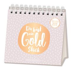 """Tischkalender 2021 """"Du bist mein Goldstück"""""""