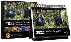 Tischkalender Das Naturerbe der Welt 2022 von KUNTH Verlag