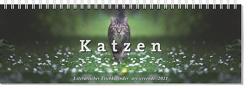 Tischkalender Katzen 2021