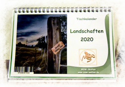 Tischkalender Landschaft 2020 von Waldow,  Michael