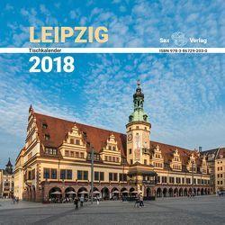 Tischkalender Leipzig 2018 von Röhling,  Birgit, Röhling,  Jürgen