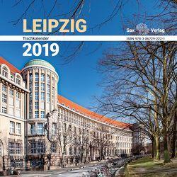 Tischkalender Leipzig 2019 von Röhling,  Birgit