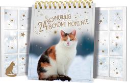 Tischkalender mit Flügeltüren – 24 schnurrig schöne Momente