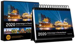 Tischkalender Unterwegs in Deutschland 2020