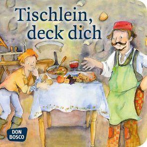 Tischlein, deck dich. Mini-Bilderbuch. von Grimm Brüder, Lefin,  Petra
