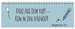 Tischquerkalender Mint 2020 von Korsch Verlag