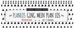 Tischquerkalender Visual Words 2020 von Korsch Verlag