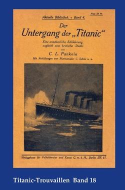 """Titanic-Trouvaillen / Der Untergang der """"Titanic"""" von Bäbler,  Günter, Panknin,  Carl Ludwig"""