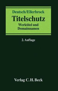 Titelschutz von Deutsch,  Volker, Ellerbrock,  Tatjana
