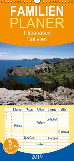 Titicacasee – Bolivien – Familienplaner hoch (Wandkalender 2019 , 21 cm x 45 cm, hoch) von Indermuehle,  Tobias