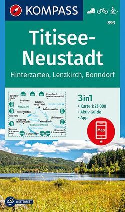 Titisee-Neustadt von KOMPASS-Karten GmbH