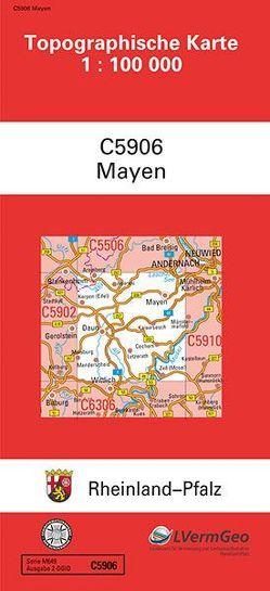 TK100 C5906 Mayen von Landesamt für Vermessung und Geobasisinformation Rheinland-Pfalz