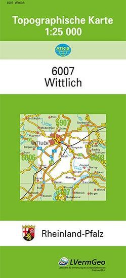 TK25 6007 Wittlich von Landesamt für Vermessung und Geobasisinformation Rheinland-Pfalz