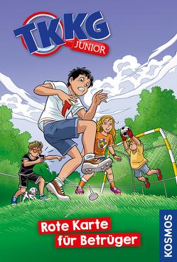 TKKG Junior, 10, Rote Karte für Betrüger von COMICON S.L./ Beroy + San Julian, Tannenberg,  Benjamin