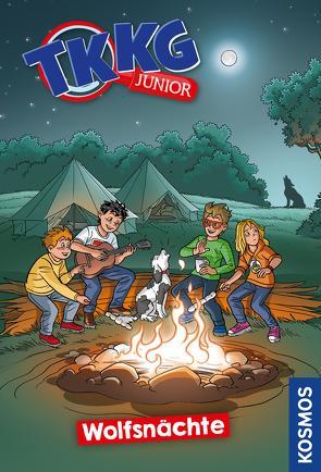 TKKG Junior, 13, Wolfsnächte von Julian,  COMICON S.L./ Beroy + San, Vogel,  Kirsten